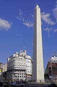 Obelisk of Buenos Aires on Avenue 9 July.