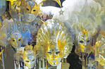 Venice carnival masks. --Digital Photo Art Painting