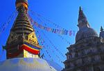 Kathmandu, Nepal: Swayambhunath Pagoda (AKA Monkey Temple)