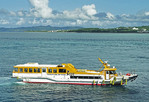Ishigaki Dream Tours cruise boat, Japan.