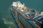 Royal Caribbean Cruise Lines mega ship Quantum of the Seas.