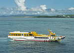Tourist cruise boat from Ishigaki Island, Okinawa, Japan