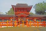 Grand Kasuga Taisha Shinto Shrine in Nara, Japan.