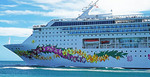 Norwegian Sky cruise ship.
