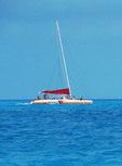Key West sightseeing catamaran cruise.