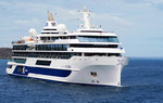 Celebrity Flora 100 passenger Galapagos Islands cruise ship (mega yacht).