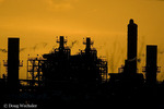 Refinery at Sunset; Freeport, Texas