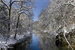 Wissahickon Cr., WinterPA, Philadelphia, Fairmount Park, Wissahickon Cr.