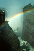 Victoria Falls with Rainbow, Africa
