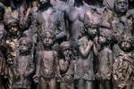 Memorial to children killed in war, Lidice, Czech Republic