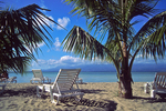 Beach on Guadeloupe