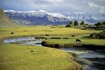 Valley in Karakoram Mountains, China
