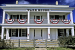 Wade House & Flags, Wisconsin Historic Site, Greenbush, Wisconsin
