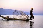 Inle Lake Leg Rower2, Shan State, Myanmar (Burma)