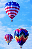 Balloon Trio, Wisconsin Dells, Wisconsin