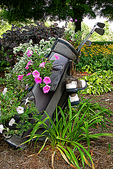 Golf Bag with flowers, Wander Springs, Wayside, Wisconsin