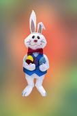 Easter bunny in pastel, Appleton, Wisconsin