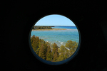 View from Cana Island Lighthouse, Bailey's Harbor, Door County, Wisconsin