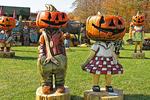 Pumpkin Heads, Door County, Wisconsin