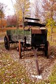 Farm Wagon in Fall, Appleton, Wisconsin