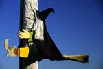 Witch on Pole, Halloween, Appleton, Wisconsin
