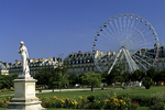 Tuileries Gardens, Paris, France