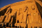 Abu Simbel at dawn, Egypt