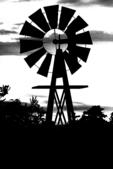 Windmill at Dusk Silhouette, Minocqua, Wisconsin