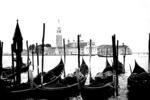 Venice & Gondolas Silhouette, Italy