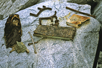Relics at Booth Island, Antarctica
