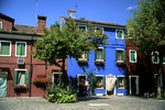 Houses in Burano, Italy