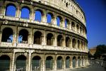 Roman Colosseum Ruins, Rome, Italy