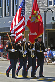 Color Guard, Flag Day Parade, Appleton, Wisconsin