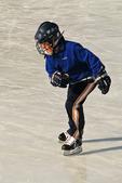 Boy Ice Skater, Kohler, Wisconsin