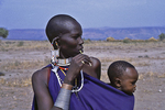 African Mother and Child, Tanzania, Africa