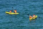 Kayaking, kayak, paddles, vacation, Caleta, Puerto Vallarta, Mexico