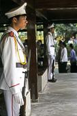 Guards at Ho Chi Minh House, Hanoi, Vietnam