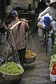 Going to Market, Old Quarter, Hanoi, Vietnam