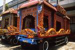 Dragon Funeral Wagons, Ho Chi Minh City, Saigon, Vietnam