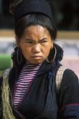 Black Hmong Woman Selling Goods, Sa Pa, Vietnam