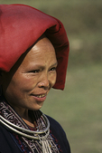 Red Zao Woman in Sa Pa, Vietnam