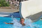 Off the Water Slide, Meade Pool, Appleton, Wisconsin