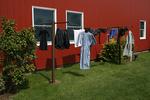 Laundry on Line, Shipshewana, Indiana