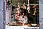 Meat Butcher in Market, Essaouira, Morocco