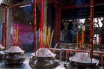 Temple Incense, Thien Hau Pagoda, Ho Chi Minh City, Saigon, Vietnam