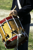 Drummer with Union Troops, Civil War Re-enactment, Wade House, Wisconsin Historic Site, Greenbush, Wisconsin