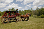 Stagecoach at Wade House, Wisconsin Historic Site, Greenbush, Wisconsin