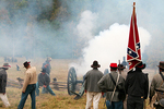 Civil War Battle with Confederate Soldiers, Wade House, Wisconsin Historic Site, Greenbush, Wisconsin