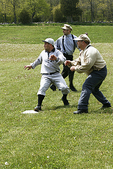 Vintage Base Ball Game, Wade House, Wisconsin Historic Site, Greenbush, Wisconsin