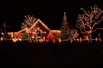 Christmas Yard Decorations, Appleton, Wisconsin